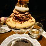 【パフェテリアミル】インスタ映えのするいろいろなデザートで飾り付けられている芸術的なパフェ