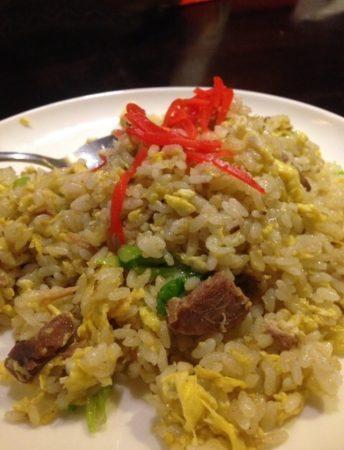中国料理 聚宝(シュウホウ)の「天津炒飯」