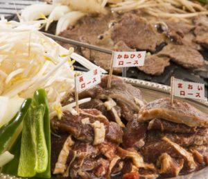 長沼ジンギスカンのジンギスカン3種食べくらべセット