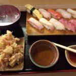 【松乃鮨】白石区の菊水駅近く!超お手頃価格で寿司ランチを提供する!かき揚げが大きくボリュームあり、自慢の一品!