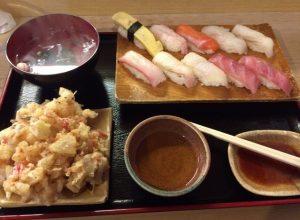 松乃鮨の「にぎりセット」