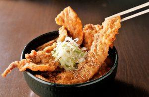 銀波露の一番人気の「ばいくぅ麺(醤油)」