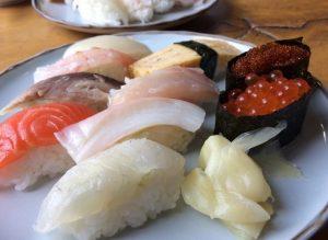 みどりやの日替わりお寿司ランチ