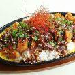 神野喫茶店の鉄板味噌カツ丼