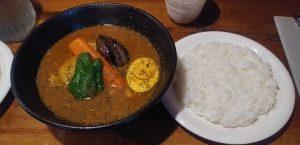スープカリー Kufuu(クフウ)の一番人気「チキンカリー」