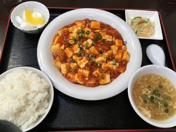 中華晋香苑の「麻婆豆腐」