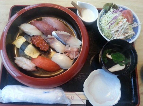 ふじ寿司の「お好み寿司」