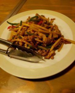 中華厨房 しのあのチンジャオロース