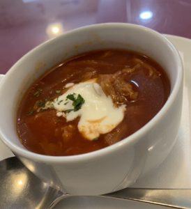 エルミタージュのボルシチスープ