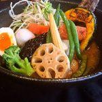 【スパイス&ミル】伝統の味噌で作る野菜がたっぷりスープカレー屋さん!