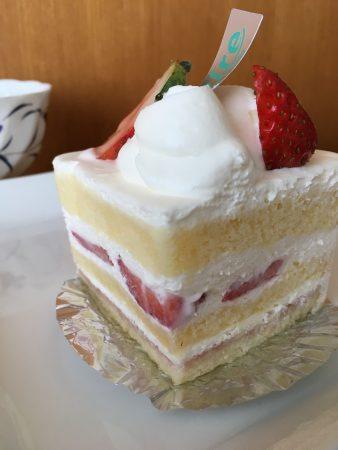 リールのショートケーキ