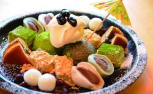 太郎茶屋鎌倉のパフェ