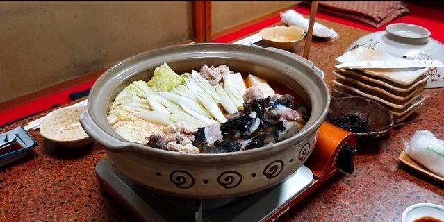 万盛寿司の「ごっこ鍋(1人前)」
