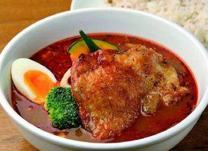 スープカレーショップ マハナの骨なしモモ肉のパリッとチキン(オリジナル)