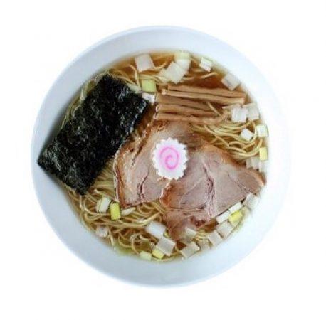 和食バル はれるやメニュー「煮干し中華そば」