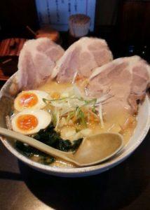 拉麺頂の「特製頂らーめん(味噌)」