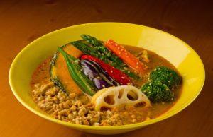 ロッカの「納豆キーマ野菜」