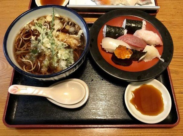 万盛寿司の「寿司天セット」