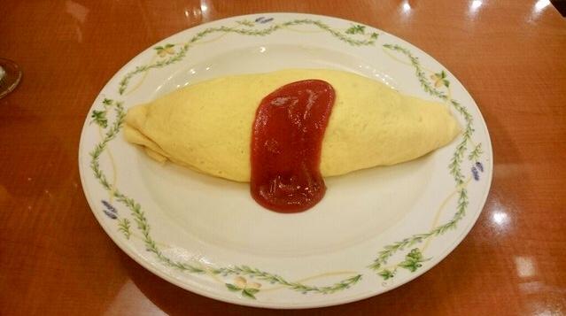 卵と私の「洋食屋さんのオムライス」
