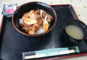 櫻茶屋の「免許トリタテ丼」