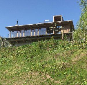 定山渓ファームの外観