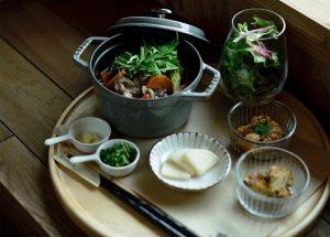 35stockの「ZO-SUI set(雑炊+おばんざい+ドリンク)」