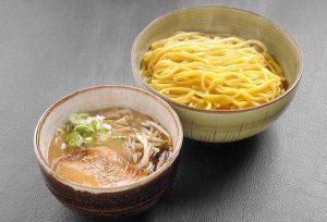 風来堂の味噌つけ麺