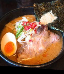 ラーメン加茂川の北海道味噌