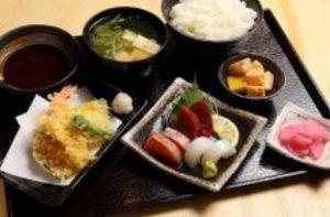 恵美須商店の人気メニュー「えびす御膳」
