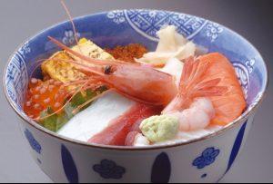 あけぼの寿司の生ちらし
