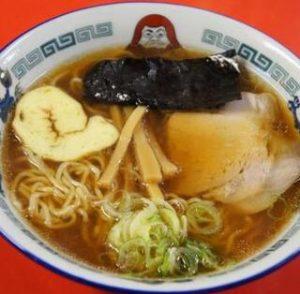 だるま軒の一番人気「醤油ラーメン」