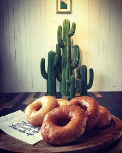 サムズアップコーヒースタンドのドーナツ