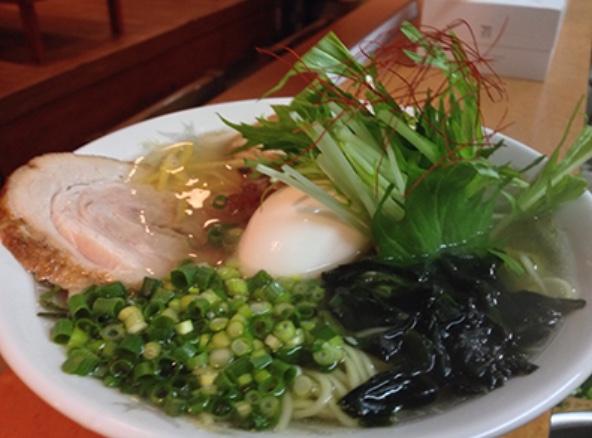 櫻島の鯛だしラーメン