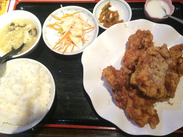 東方明珠飯店の唐揚げ