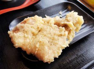 かばと製麺所の天ぷらのメニュー