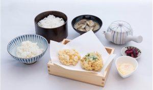 天ぷら弥平の天まぶしセット