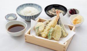 天ぷら弥平の弥平天ぷらセット