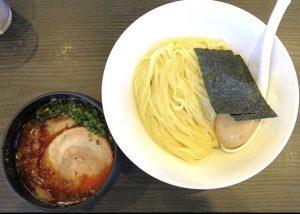 札幌Fuji屋の辛化つけ麺