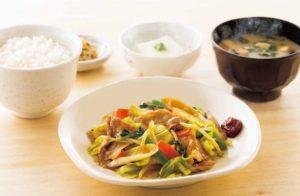 肉野菜炒め定食