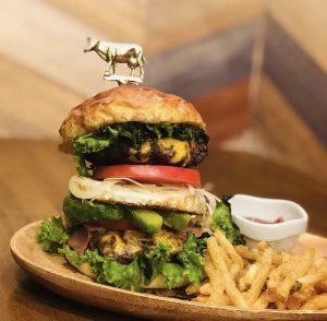 神楽マイキーのハンバーガー