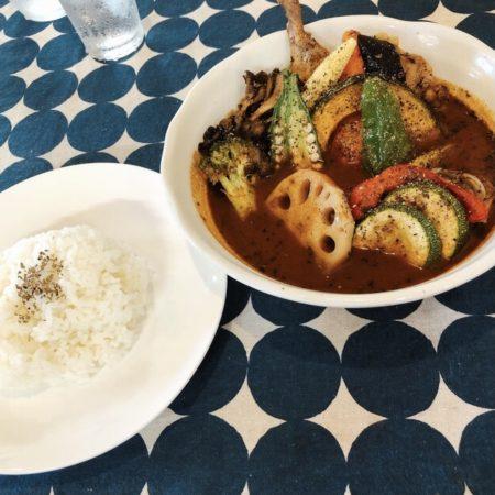 カワラヤスープカレーの季節の野菜