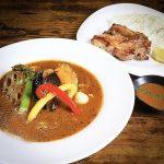 【札幌スープカレーLOGO65】北24条駅近く鶏白湯スープの人気スープカレー!